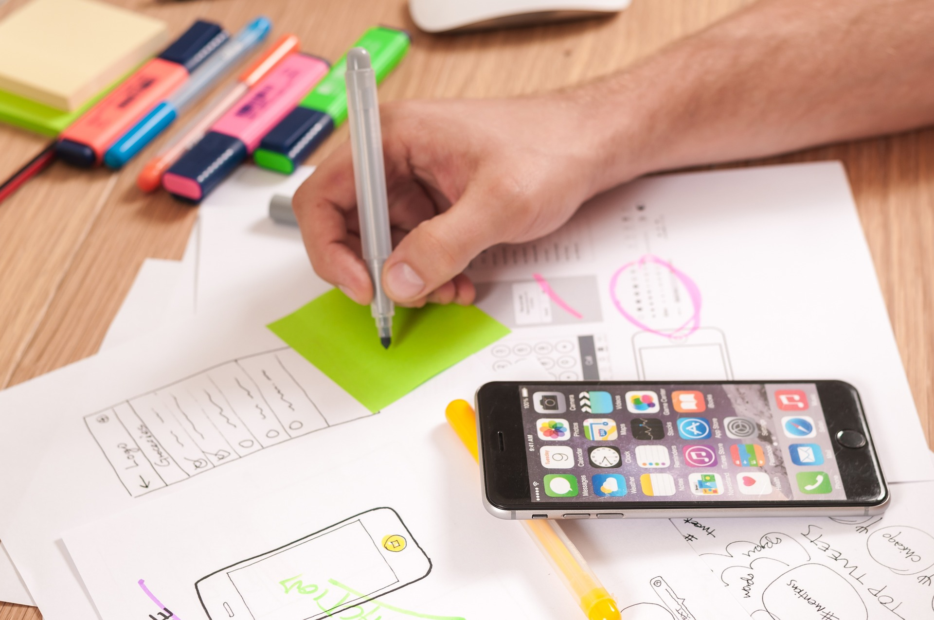 اصول طراحی اپلیکیشن موبایل