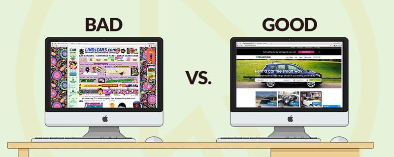 طراحی سایت خوب و بد چه ویژگی هایی دارد؟