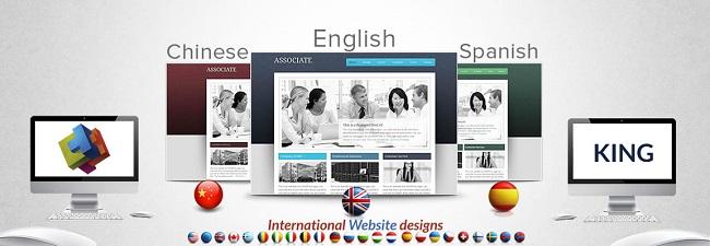 نکات طراحی وب سایت چند زبانه