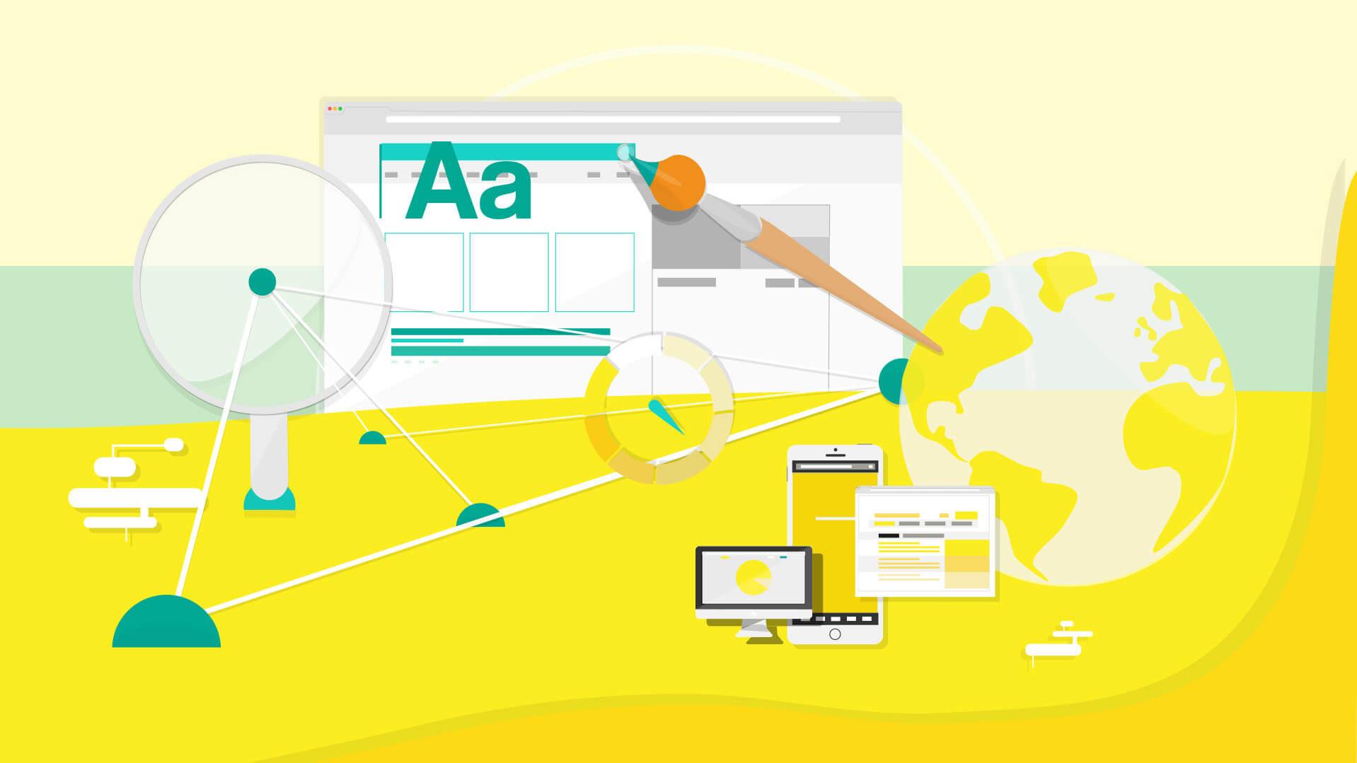 بررسی 5 عامل مهم در طراحی سایت و سئو