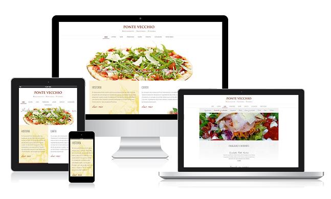 طراحی سایت و اپلیکیشن برای رستوران