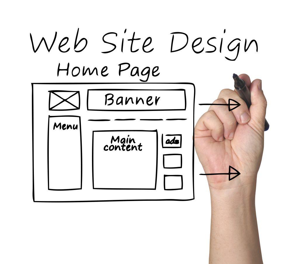 ساختار صفحات در طراحی سایت چگونه باید باشد؟