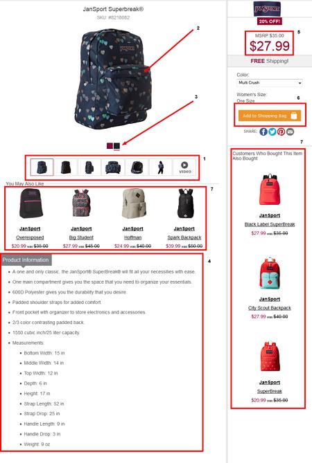 محصولات فروشگاه اینترنتی