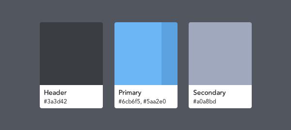 رنگ ها در طراحي