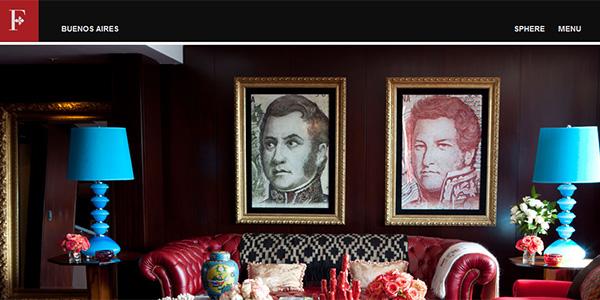 طراحی سایت هتل Faena
