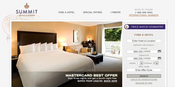 طراحی سایت گروه هتل داری