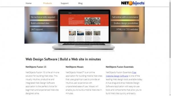 طراحی سایت Net Objects