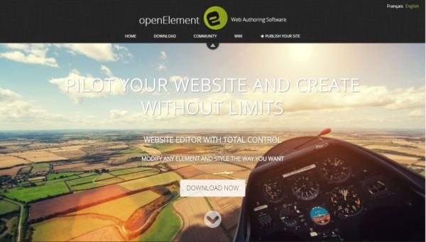 طراحی سایت Open Element