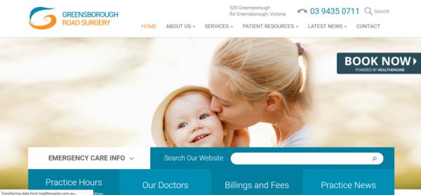 طراحی سایت جدید پزشکی