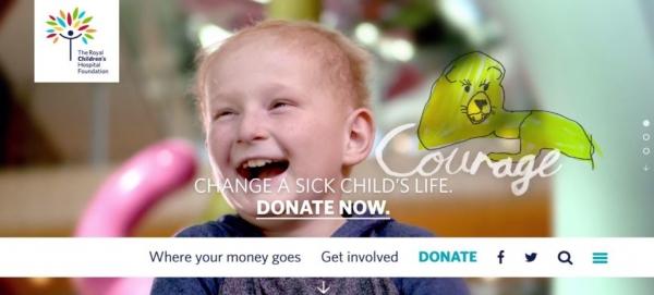 طراحی سایت Royal Children's