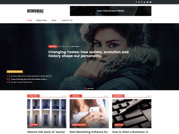 طراحی سایت خبری وردپرس