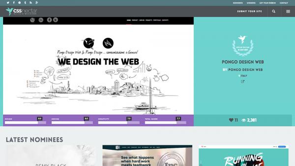 الهام از طراحی سایت