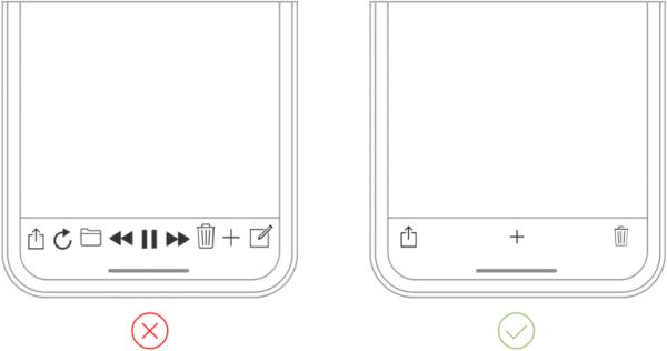 نمونه اپلیکیشن موبایل