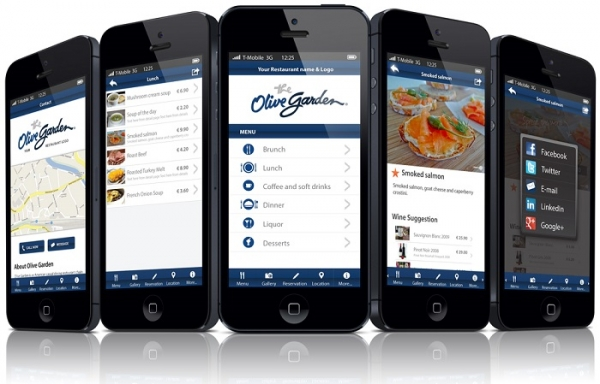 طراحی اپلیکیشن رستوران