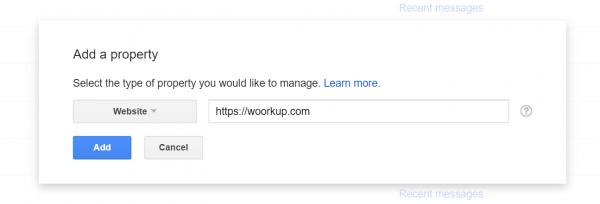 افزودن سايت به گوگل وبمستر