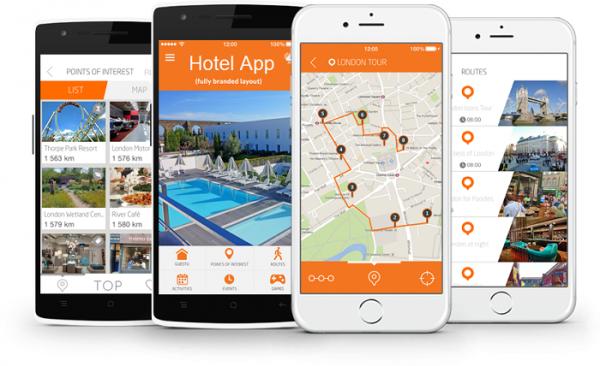 ساختن اپلیکیشن برای هتل