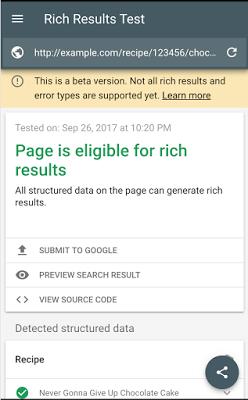 نکات نتایج گوگل