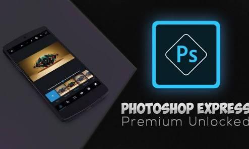 اپلیکیشن موبایل Adobe photoshop express