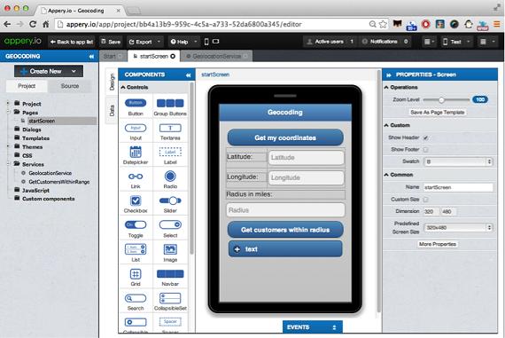 اپلیکیشن موبایل AppIcelerator