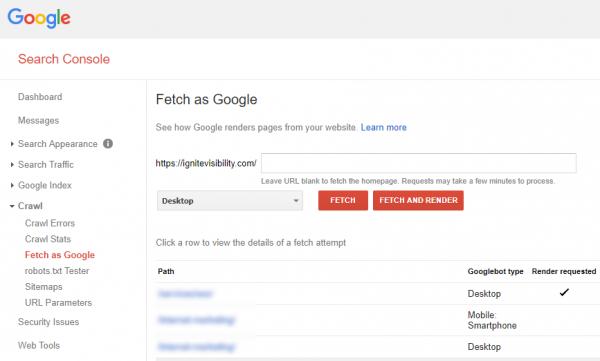 ابزار گوگل وبمتسر