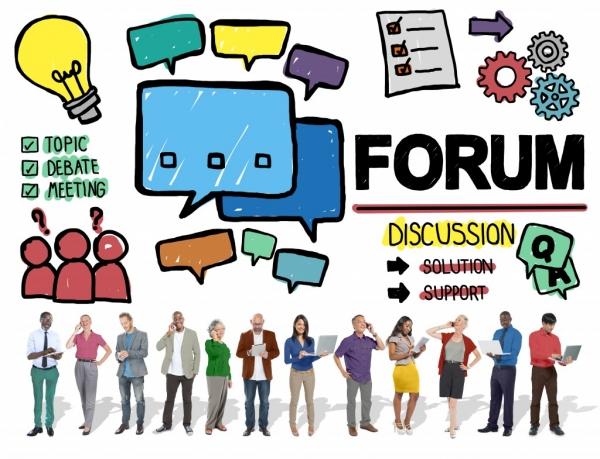 ساخت سایت برای انجمن و تالار گفتگو